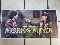 Vintage Parker Brothers Mork and Mindy Board Game Of Splink 1979 Complete -