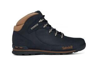 Timberland Euro Rock Mid Hiker Nubuck Mens Boots Shoes UK 10 EU 44.5