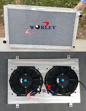 FOR Subaru Impreza WRX STI GC8 Aluminum Radiator + Shroud + Fan 1993-2000 MT NEW