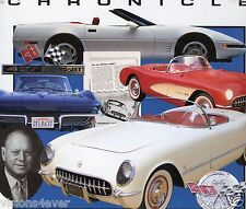CORVETTE CHRONICLE  LARGE HARDBACK BOOK* 192 PAGES* by JAMES FLAMMANG