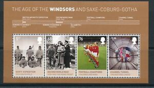 GB 2012 Kings and Queens Windsors mini sheet SG MS3270 MNH