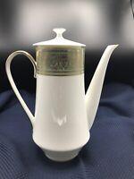 Hard To Find Mikasa ROSEMONT Coffee/Tea Pot EUC #39