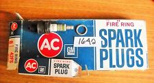 AC Fire Ring 42FS  spark plug 5613263 GM box of 6 green ring vintage NOS