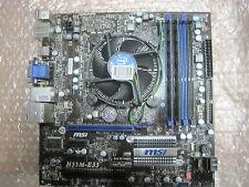 Bundle MSI H55M-E33 | CPU Intel core i5-750 | 2 GB DDR3 Ram | CPU |k100