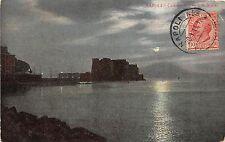 BR35451 Napoli castello del Ovo di Notte italy