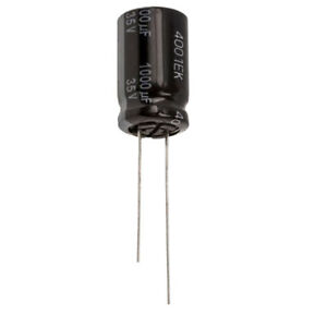 1000uF 35V Low ESR Electrolytic Capacitors 105'C Panasonic, Pack of  2,5 or 10