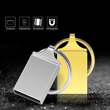 64GB 32GB Mini Metal Key USB 2.0 Flash Drive Memory Stick Pen Disk PC ES