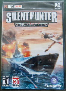 Silent Hunter Wolves of the Pacific PC DVD Game for Windows 2007 SEALED