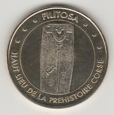 A 2011 TOKEN MEDAILLE MONNAIE DE PARIS -- 20 140 N°2 FILITOSA PREHISTOIRE CORSE