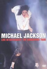 "MICHAEL JACKSON ""LIVE IN BUCHAREST' DVD DANGEROUS NEW+"