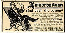 Thür.-Patent-Cigarrenspitzen-Fabrik R.Zeise Grossbreitenbach-Oelschröte 1901
