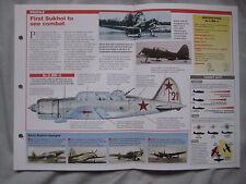 Aircraft of the World Card 47 , Group 13 - Sukhoi Su-2