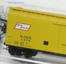 N US Box Car Jersey Central Lines Micro-Trains 021 00 520 neuw. OVP