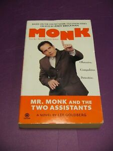 Mr. Monk and the Two Assistants - Monk Mystery Series - Paperback Lee Goldberg