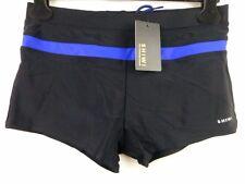 Shiwi Bañador Corto para Hombres Shorts Ajustado Traje de Baño Gr M NEGRO Playa