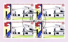 BRD 2004: Bauhaus! Viererblock Nr 2394! Berliner Ersttagssonderstempel! 1A! 1512
