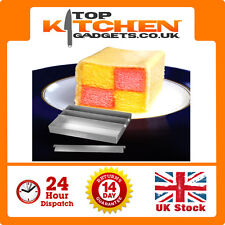 "Alan Silverwood 8"" Inch x 6"" Inch Battenberg Baking Tin Anodised Battenburg Pan"