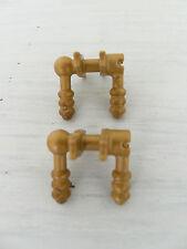 Playmobil 2 Türklingen gold Puppenhaus 5300 5302 Prinzessinnenschloß Neuwertig