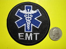 EMT PATCH STAR OF LIFE MEDIC FIRST RESPONDER TACTICAL PATCH CIRCLE LOOK EMS EMTP