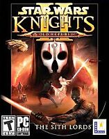 Star Wars Knights of the Old Republic II: The Sith Lords LucasArts PC Complete