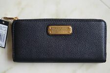 NEW MARC BY MARC JACOBS BLACK Classic Q Long Wallet Bag M0009410 RETAIL $198