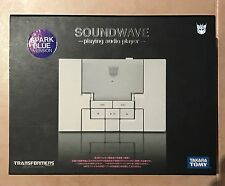 Takara Transformers Music Label SOUNDWAVE MP3 Player Spark Blue version