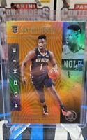 2019-2020 Panini Illusions Zion Williamson Rookie Card orange parallel #151 RC