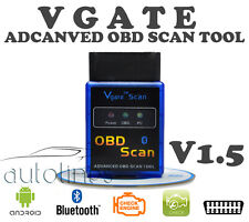 VGATE ELM327 OBD2 OBDII V1.5 BLUETOOTH Android Car Auto Diagnostics Scanner Tool