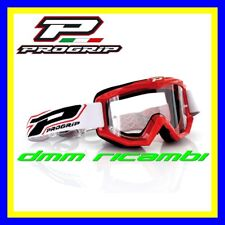 Occhiali PROGRIP 3201 Cross Enduro Motard ATV Quad PitBike Bici MTB DH Rosso