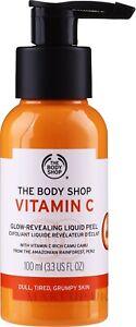 The Body Shop Vitamin C Glow Revealing Liquid Peel - 100ml - Free delivery. Veg.