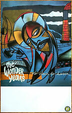 The Wonder Years No Closer To Heaven Ltd Ed Rare Poster +Free Rock Punk Poster!
