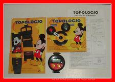 Gadget Topolino TOPOLOGIO OROLOGIO di TOPOLINO DISNEY
