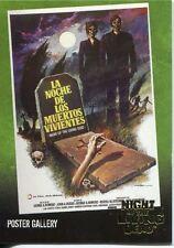 Night Of The Living Dead Gold Foil Chase Card  F3   La Noche de Los Muertos