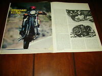 1980 KAWASAKI KZ750 ***ORIGINAL ARTICLE / SPECIFICATIONS***