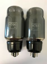 KT66 OSRAM GRADE 1 MATCHED PAIR VALVE/TUBE (LC6)