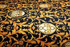 Überdecke Bettdecke Exklusive Mäander Medusa Klassisch. 240 x 240 cm versac