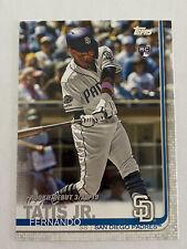 Fernando Tatis Jr RC 2019 Topps Update #US56 rookie debut San Diego Padres