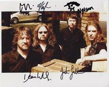 New Model Army (Band) Fully Signed 8 x 10 Photo Genuine In Person