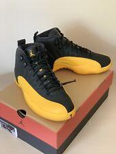 Nike Air Jordan 12 Retro Black University Gold Size 9 DS