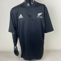 New Zealand All Blacks Rugby Union Adidas Jersey Mens XL Like New Free Post