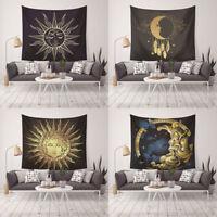 Eg _ Moda Sole Luna Motivo Arazzo Telo da Spiaggia Coperta Picnic Casa