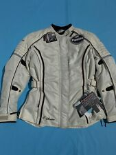 NEW Tour Master Trinity 3.0 Women's Size Medium Tall Motorcycle Jacket Cream