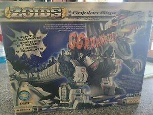 Zoids Gojulas Giga Action Figure Model Kit Hasbro