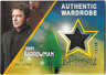 Cryptozoic Arrow 4 Costume Wardrobe Relic Card John Barrowman M08 10 / 99