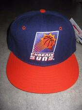 Vintage New Era Phoenix Suns Nba Dead Stock Fitted Hat Cap 6 7/8 With Tags