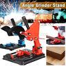 45° Angle Grinder Stand Bracket Holder Stand Adjustable Cutting Tool Iron Base