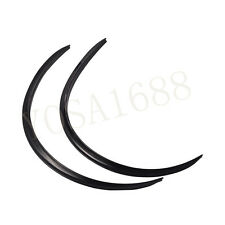 1 Pair Car Eyebrows 58 CM Wheel Eyebrow Black Color Styling Car Wheel Eyebrow