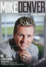 Mike Denver - 3 in a Row Special Edition (3 DVD Box Set ) FREE UK P&P