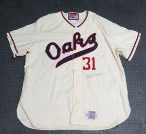 1992 Kelly Downs Oakland Athletics Oaks Throwback Game Used Worn Baseball Jersey
