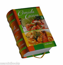 Cocina peruana comida casera # 4. Verano libro miniatura mas de 100 recetas